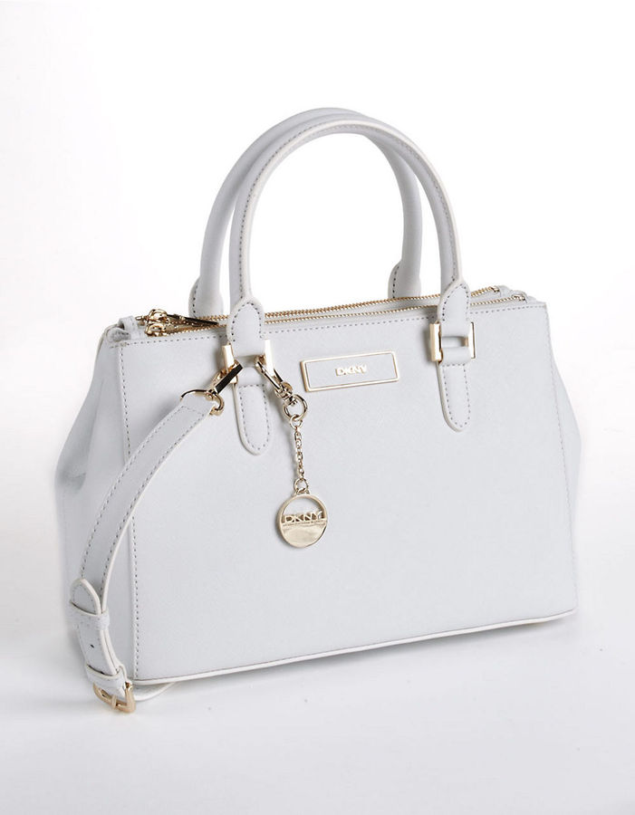 DKNY Leather Satchel Bag