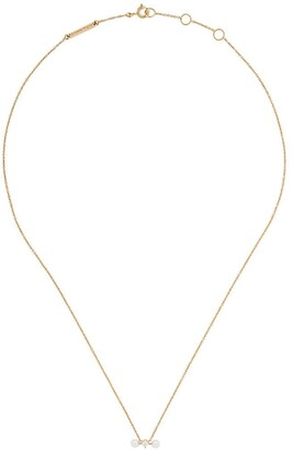 Delfina Delettrez 18kt yellow and white gold Two In One pearl and diamond necklace