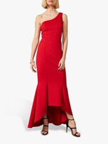 Thumbnail for your product : Phase Eight Dahlia One Shoulder Fishtail Hem Dress, Scarlet