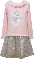 Bonnie Jean Snowman Dress - Girls 7-12