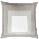 Surya Cube Cut-Outs Pillow