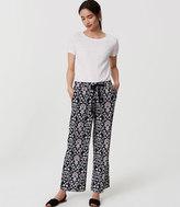 LOFT Petite Jasmine Fluid Drawstring Pants