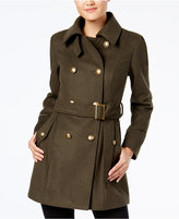 BCX Juniors' Belted Trenchcoat