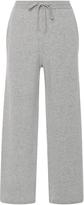 Joseph Drawstring Wool Cropped Pants