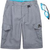 ZeroXposur Beach 2 Street Crossdye Swim Trunks with Goggles - Boys 8-20