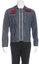 Diesel Appliqué Denim Jacket