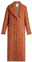 Marco De Vincenzo Wool-blend tweed coat