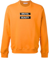 Walter Van Beirendonck - statement sweatshirt - men - Cotton - XL