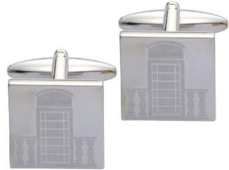 Code Red Laser Engraved Phone Box Cufflinks