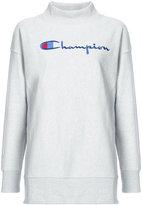 Champion logo polo sweatshirt