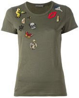Alexander McQueen 'Obsession' embroidered T-shirt
