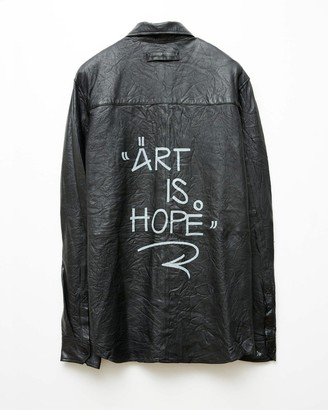 Zadig & Voltaire Jormi x Art Is Hope Taskah Leather Shirt