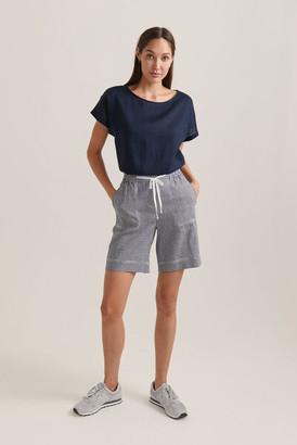 Sportscraft Rosa Gingham Linen Short