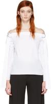 Harmony White Tara Off-the-shoulder Blouse