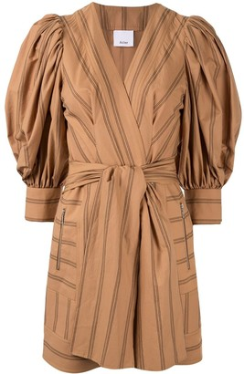 Acler Wyatt wrap dress