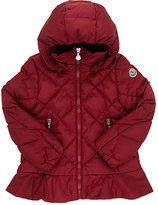 Moncler Quilted Hooded Parka-RED