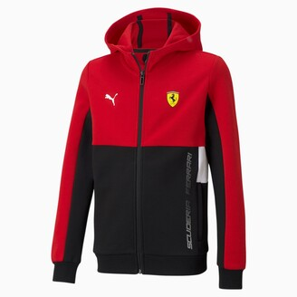 Puma Scuderia Ferrari Kids' Hooded Sweat Jacket