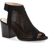 Vince Camuto Women's 'Lavette' Perforated Peep Toe Bootie