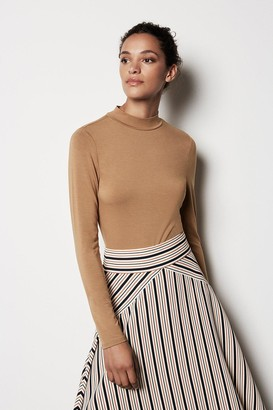 Karen Millen High-Neck Jersey Top