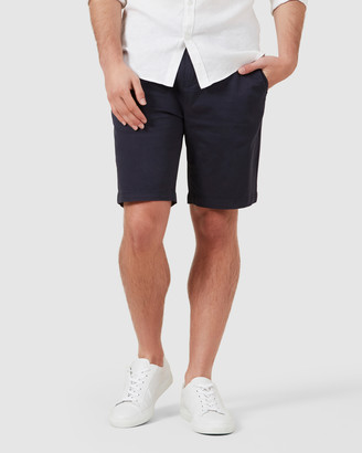 French Connection Men's Shorts - Relaxed Fit Stretch Chino Shorts - Size One Size, 28 at The Iconic