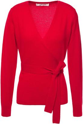 Diane von Furstenberg Ballerina Wool And Cashmere-blend Wrap Cardigan