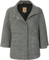 Fay patterned short coat