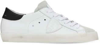 Philippe Model Paris Leather & Suede Lace-Up Sneakers