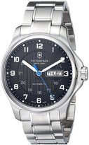 Victorinox Men's 241591 Officers Analog Display Swiss Automatic -Tone Watch