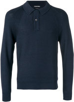 Tom Ford buttoned neck jumper - men - Silk - 48
