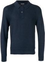 Tom Ford buttoned neck jumper - men - Silk - 48