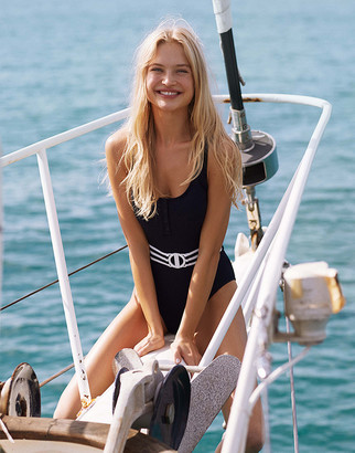 Seafolly Belted Tank Swimsuit