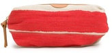 MANGO TOUCH - Canvas striped cosmetic bag