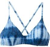 RVCA Women's Isla Tie Dye Cross Back Bikini Top