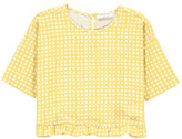 Babe & Tess Sale - Checked Blouse
