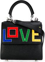 Les Petits Joueurs Baby Alex Rainbow Love tote - women - Leather/Plastic - One Size