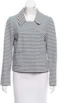Kate Spade Striped Long Sleeve Blazer