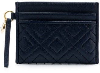 Tory Burch quilted card holder