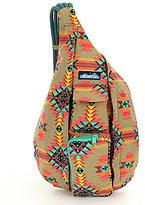 Kavu Printed Rope Messenger Bag