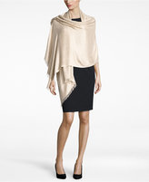 INC International Concepts Geo Jacquard Wrap & Scarf in One, Only at Macy's