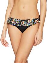 Pour Moi? Women's Sunkissed Skirted Frill Brief Bikini Bottoms