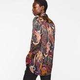 Paul Smith Women's Black 'Monkey' Print Shirt