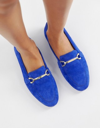 Asos Design DESIGN Moment leather loafers