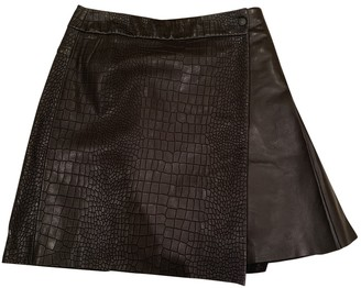 Rag & Bone Black Leather Skirt for Women