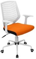 Lumisource Network Office Chair White/Orange
