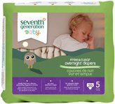 Seventh Generation Overnight Diapers - Size 5 - 20 ct by