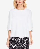 Vince Camuto Bubble-Sleeve Top
