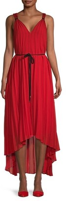 Ted Baker Pleated Maxi A-Line Dress