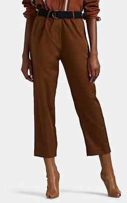 ROUCHA Women's Poro Cotton Drawstring Trousers - Camel