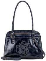 Patricia Nash Studded Distressed Calvi Satchel