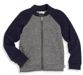 Splendid Toddler Boy's Colorblock Zip-Front Cardigan